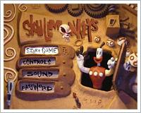 Skullmonkeys - Hlavní menu