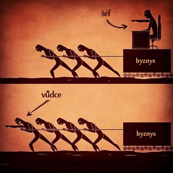 Šéf vs. vůdce