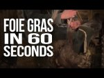 Foie Gras in 60 Seconds Flat